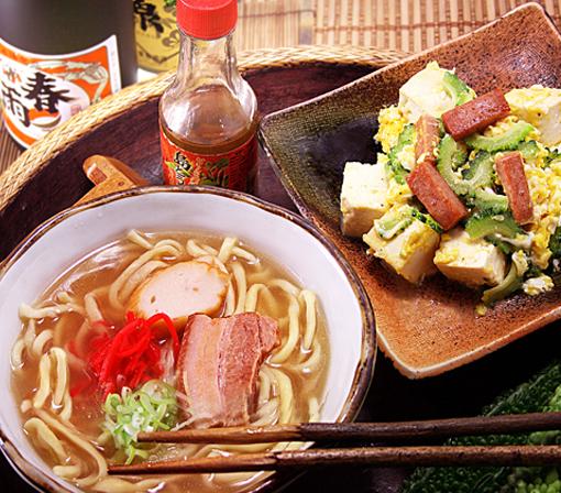 本文まんまる沖縄蕎麦