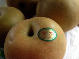 安城ではかなり有名な梨作り名人の梨だそうです