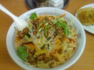 源ちゃんラーメン(冷やし担々麺・大盛)