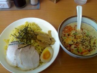源ちゃんラーメン(担々つけ麺・大)