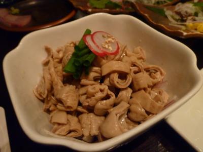芋蔵・酢モツ