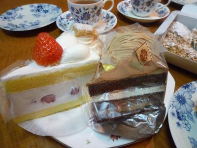 俊からのケーキ♪