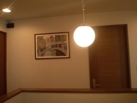 2階の絵画