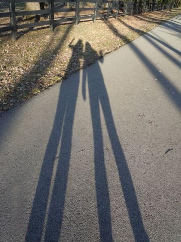 2013年4月2日麻希とトレイルコース散歩♪