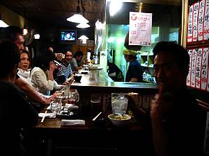 京都、錦小路にある立ち飲み酒場