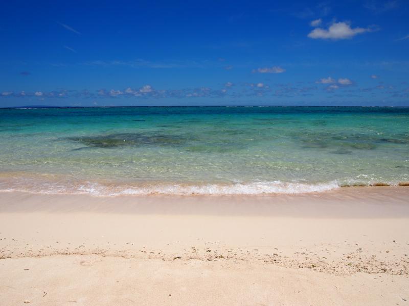 寺崎海岸の海