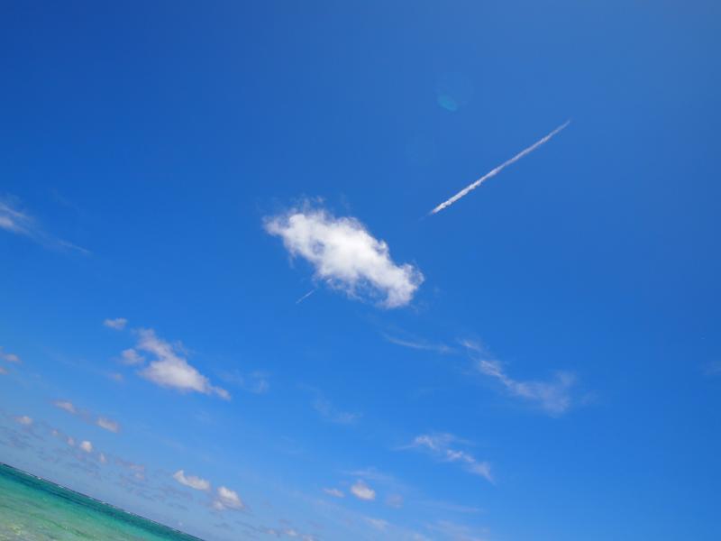 与論島の風