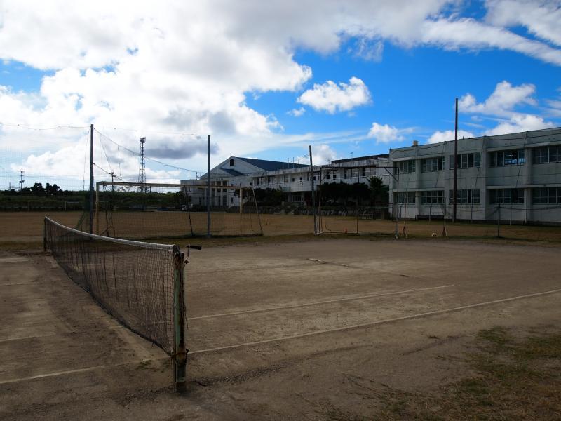 与論中学校1