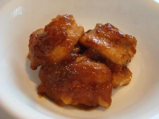 鶏肉のおろしダレ炒め