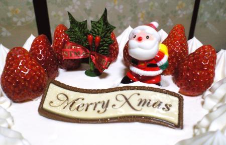 クリスマスケーキ(24.12.24)