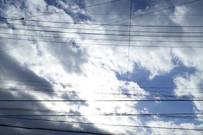 雲に隠れる太陽(24.12.25)