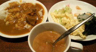 スープ、サラダ、カレー(24.12.29)