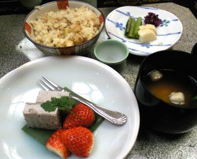 お料理デザートほか(25.1.18)