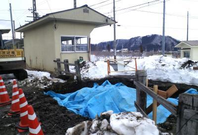 上条駅トイレ改修工事(25.2.2)