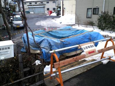 夜間瀬駅トイレ2月2日現在(25.2.2)