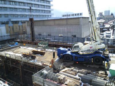 北信病院再構築工事(25.2.22)