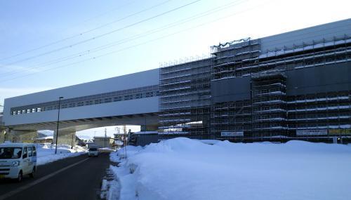 北陸新幹線飯山駅(25.2.26)