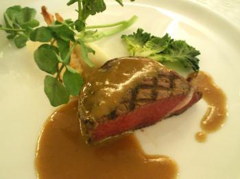 牛フィレのステーキ(25.3.23)