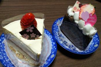 中野市セルクルのケーキ(25.3.31)