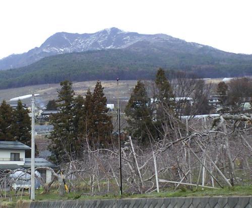 今日の高社山(25.4.2)