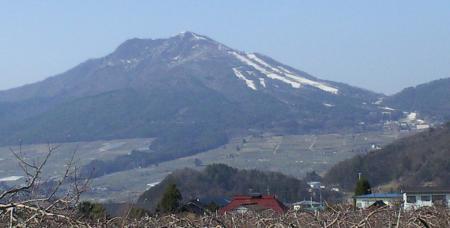 今日の高社山(25.4.4)