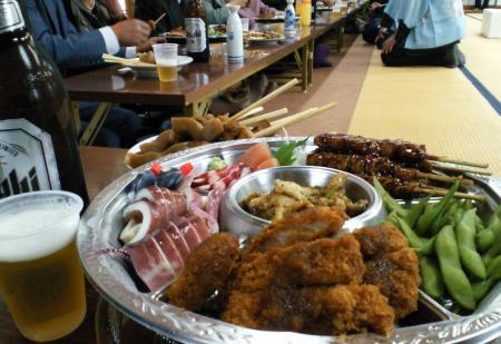 直会のお料理(25.4.21)