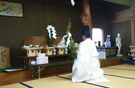 桜下農蚕神社祭礼(25.4.21)