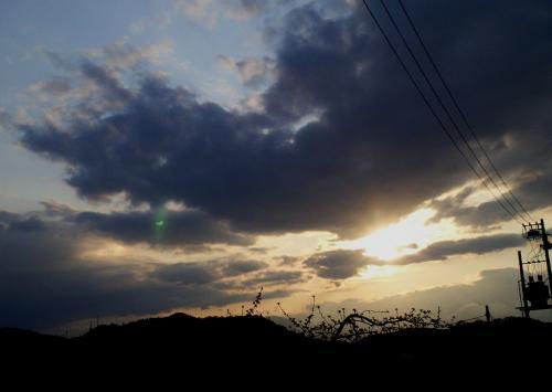 5月4日に現れた幻日(25.5.4)
