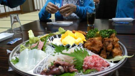 懇親会お料理(25.5.15)