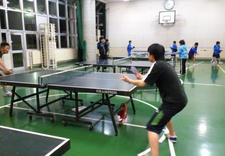 卓球教室初日(25.5.16)