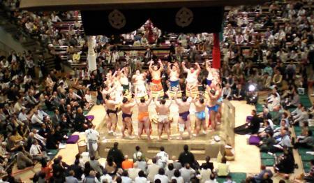 幕内力士土俵入り(25.5.20)