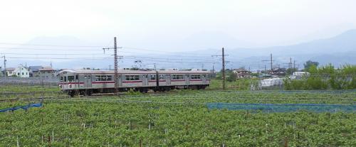 長野電鉄普通車両湯田中行き(25.5.26)