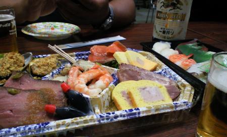 懇親会お料理(25.5.24)
