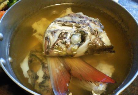鯛のうしお汁(25.5.31)