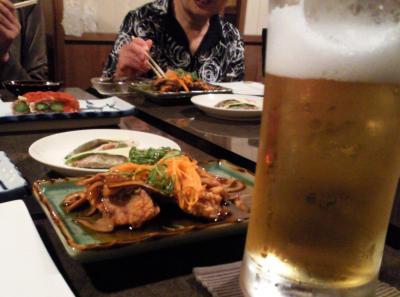 「流有」で生ビール(25.6.10)