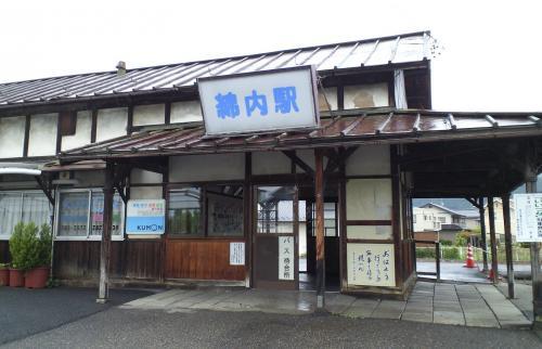 旧屋代線綿内駅(25.6.19)