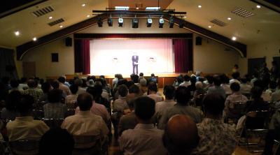 試写会での町長挨拶(25.6.30)