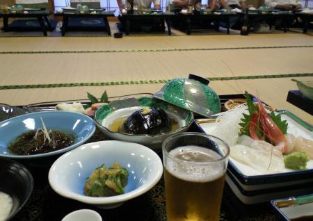 「有竹」で懇親会(25.7.12)