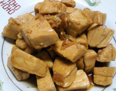 マグロの甘辛煮(25.7.14)
