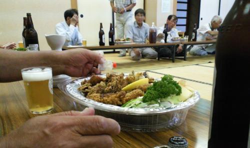 慰労会(25.7.16)