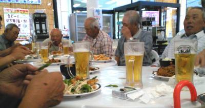 生ビールで暑気払い(25.8.5)