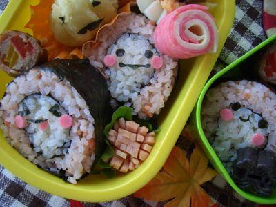 おばけ巻き寿司b