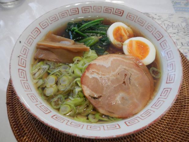 黄金鶏油ラーメン (3)