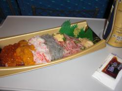 魚がし鮨のこぼし太郎のテイクアウト