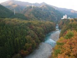 秋の鬼怒川