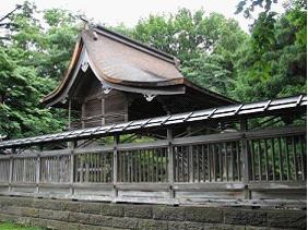 グラフィックス1熊野奥照神社本殿ー1