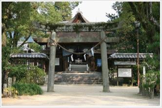 グラフィックス3吉香神社 鳥居