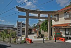 グラフィックス3日御碕神社 神の宮 鳥居