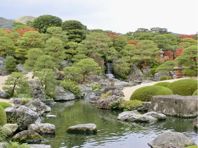 グラフィックス3日本の庭園-1