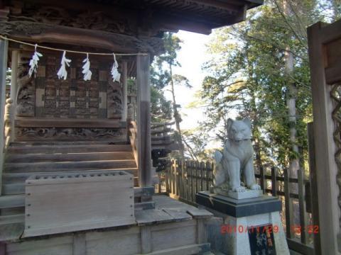 大口真神社の狛犬